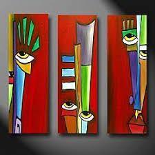 Art 'Apart' – by Thomas C. Fedro from Faces Art 'Apart' – by Thomas C. Fedro from Faces Pintura Graffiti, Cubist Art, Motif Art Deco, Abstract Face Art, Creation Art, Africa Art, Modern Art Paintings, Arte Pop, Diy Canvas Art