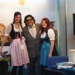Auf der Reise- und Freizeitmesse f.re.e in München war Fussballgott Diego Maradona am Messestand des Hotel