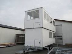 Double transportable insulated office