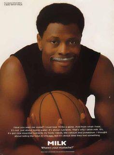 Got Milk Ads   Bamboo Trading: Patrick Ewing - Got Milk? Ad, Got Milk? Ads