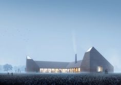 Gallery of Reiulf Ramstad Arkitekter Wins Competition for Kiln-Inspired Food Education Center in Denmark - 1