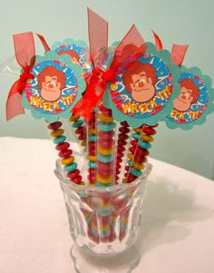 Wreck it Ralph Party Favor.