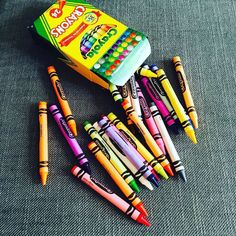 Crayons are such a simple timeless art supply. Its time to think outside the crayon box!  Contact me to learn more about fun projects for art birthday parties and summer art lessons!  980-253-4829 robin@itsanartparty.com