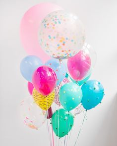 Balloons bring any party to life – especially when they're customized with bright and bold craft supplies. Here you'll find 5 creative and easy ways to dress up balloons for your next get-together. Add festive details to weddings, summer parties, birthdays, or any other occasion that could use a pick-me-up.