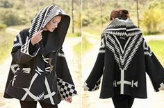Lindsey Thornberg and Pendleton collaboration cloak