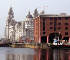 Pier Head, Liverpool, England