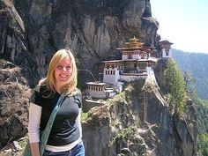Carolyn Hamer-Smith, General Manager of the AHF at Tiger's Nest, Bhutan.
