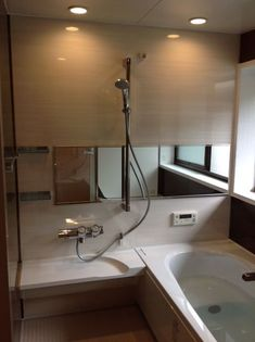 Japanese Style Bathroom, Changing Room, Wet Rooms, Private Room, Bath Design, Bathroom Styling, Toilet, Bathtub, House Design