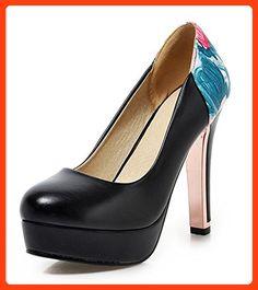 Aisun, Damen Pumps , schwarz - schwarz - Größe  33 ( Partner Link 86a773a3fa
