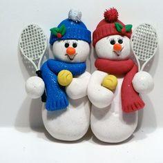 Ornament - Snowmen Doubles