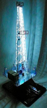 Oil Model Drilling Rigs