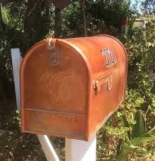 Smith And Hawken Copper Mailbox Google Search Copper Mailbox