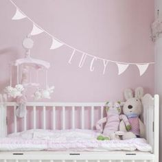 Bunting Personalised Wall Sticker