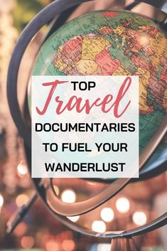 Whenever traveling is not possible what can we do to fuel our Wanderlust? - Check this list of travel documentaries that will expose to you the unseen beauty of the world around us! #travel #documentaries #movies | Travel Watch List | Most Beautiful travel destinations | Best travel documentaries | Travel Articles, Travel Tips, Travel Destinations, Travel Ideas, Travel With Kids, Family Travel, Travel Movies, Travel Books, National Geographic Photography