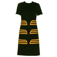 Vintage and Designer Day Dresses - For Sale at 60s And 70s Fashion, 60 Fashion, Retro Fashion, Vintage Fashion, Fashion Outfits, Fashion Design, 1960s Dresses, 1960s Outfits, Vintage Outfits
