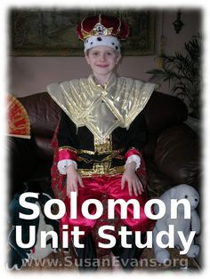 This fun Solomon Unit Study includes dramatizations, drawings, and hands-on ideas for learning about the wisest man who ever lived. We filmed our dr