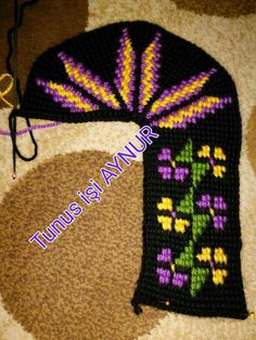 This Pin was discovered by Zey Baby Knitting Patterns, Crochet Patterns, Handmade Crafts, Diy And Crafts, Knitted Slippers, Tunisian Crochet, Knitting Socks, Projects To Try, Cross Stitch