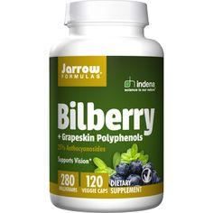 Bilberry & Grapeskin Polyphenols, 120 Veg Caps AED312.00