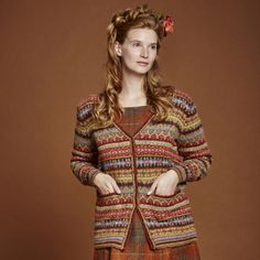 Cherry from Autumn Collection Five by Marie Wallin | English Yarns http://englishyarns.co.uk/rowan-marie-wallin-autumn.html