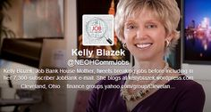 She was way too harsh in her emails and treatment of these job seekers.  That said, it can be tough out there ... be careful how you pitch yourself to people.  Now, the story ... Kelly Blazek, Head of Cleveland Job Bank, Writes Scathing Emails to Local Job Seekers