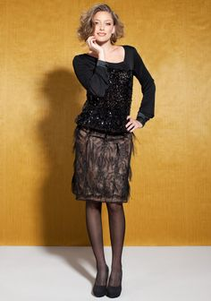 Pusero ja hame SK 10/13 Wrap Blouse, Lace Skirt, Most Beautiful, Peplum, Goth, Jackets For Women, Couture, Sleeves, Sweaters