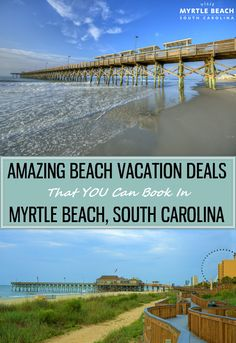 Myrtle Beach Vacation Deals that you can book for your next Oceanfront Getaway! Plan Your Next Beach Vacation to Myrtle Beach – We have 60 Miles of Beautiful Coastline and Oceanfront Accommodations so you are sure to Book the Perfect Getaway. Vacation Deals, Need A Vacation, Vacation Places, Vacation Destinations, Vacation Trips, Dream Vacations, Vacation Spots, Places To Travel, Places To See