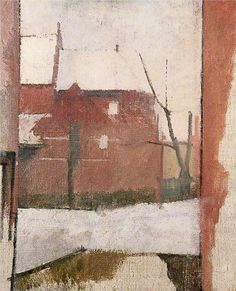 View from Kitchen Window, Cannon Hill William Coldstream