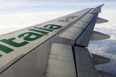In the Sky with Alitalia