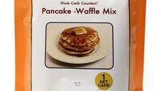 The original formula - Dixie Carb Counters Low-Carb Pancake & Waffle Mix - hearty low carb pancakes great when eggs and bacon start to get boring. Package makes 16 servings. Light fluffy pancakes with 1-2 net carb per serving. Easy to make and enjoy. From the folks at Dixie Diner. https://www.carbsmart.com/dixiepancake.html