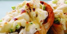 Crab Melt | Need a quick lunch idea?  A Crab Melt is an easy and appetizing option! | From:Kitchen Daily Editors | Via: kitchendaily.com