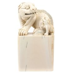 Chinese Ivory Seal, 19th-20th Century
