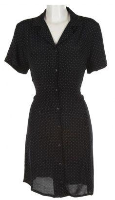 6f71f451eab Navy   White Polka Dot Dress - Vintage clothing from Rokit -