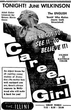 CAREER GIRL - May 4 60, 14