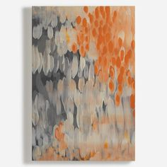 'Abstract Oranges' Canvas