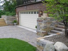 Private Residence, Minneapolis, MN 2011 HNA Hardscape Project Award Winner Contractor: Switzer's Nursery & Landscaping, Inc.  Permeable interlocking concrete pavement made this project possible. The project involved replacing the existing garage and adding outdoor living space above it.  PICP allowed infiltration of all stormwater and also helped protect a creek at end of the block. Concrete Pavers, Outdoor Living, Outdoor Decor, Driveways, Award Winner, Pavement, Minneapolis, Curb Appeal, Living Spaces
