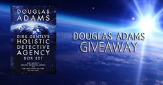 ends 09/07 #ScienceFiction #Giveaway – #Win ANY #DouglasAdams Novel! #Kindle #amreading