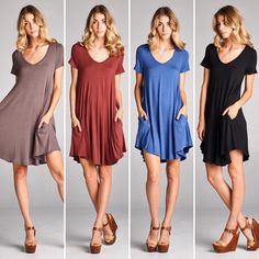 D5768 Loose fit short sleeves v-neck dress. Very rounded hems. This dress is made with heavy weight knit jersey that is soft drapes well and stretches very well.  #cherishusa #cherishapparel #shopcherish #summerfashion #fashionbuyer #boutique #fashion #fashiondiaries #instafashion #instastyle #fashionstyle #ootd #fashionable #fashiongram #summerstyles #clothingbrand #summer2016 #dress #shortsleeve #vneckdress #roundedhems #knitjersey  http://bit.ly/cherish-D5768