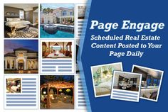 Agents, get real estate related images and articles selected by our social media experts posted to your Facebook pages with READ Page Engage!   Choose your posting schedule and we'll do the rest!    #realestate #realtors #socialmedia #facebookexperts