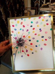 card making ideas for kids Make it a card Diy Crafts For Kids, Art For Kids, Arts And Crafts, Paper Crafts, Diy Niños Manualidades, Fingerprint Art, Collaborative Art Projects, Art Activities, Diy Cards