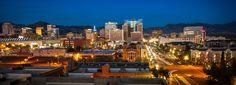 Downtown Salt Lake City, Utah Salt Lake City Utah, San Francisco Skyline, Places, Travel, Viajes, Destinations, Traveling, Trips, Lugares