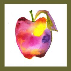 """DAY 304-12/1/13) """"Pretty Pink N Purple Apple"""" Repin and help us spread awareness about Spondylitis"""
