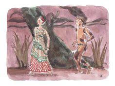 Illo by Noemi Manalang for Ballet News