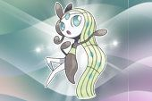 The mythical Pokemon Meloetta has been revealed to the international public, though there are no announcements on an event for it yet.
