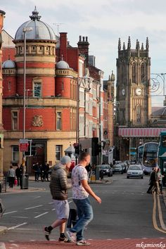 Leeds England, Leeds City, West Yorkshire, Bradford, United Kingdom, Street View, Europe, History, Architecture