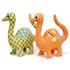 Dinosaur Softie Sewing Pattern