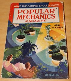 August 1935 Popular Mechanics with articles by WillmoreCityVintage