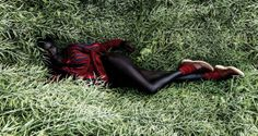 Jeneil Williams by Julia Noni for Vogue Germany September 2013 1