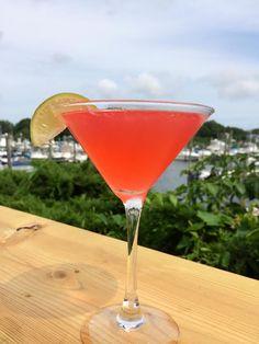 Keel Good Martini- using local Keel Vodka from Newport, RI