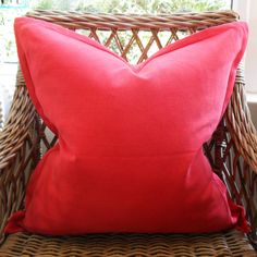 Raspberry Scatter Cushion with Oxford Edge Available including or excluding feather and down inner and in various sizes Cotton, Linen - Cold Wash Lead t Scatter Cushions, Throw Pillows, Raspberry, Indoor, Boutique, Interior, Toss Pillows, Decorative Pillows, Raspberries