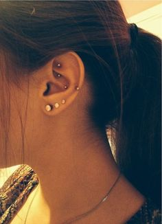 rook and snug piercing - Google Search